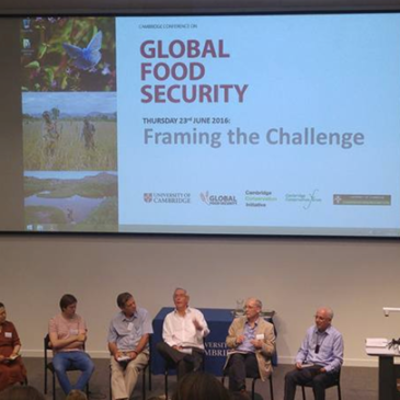 IFSTAL at the Global food security conference, Cambridge 23-24 June 2016