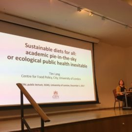 IFSTAL Public Lecture: Sustainable Diets for All