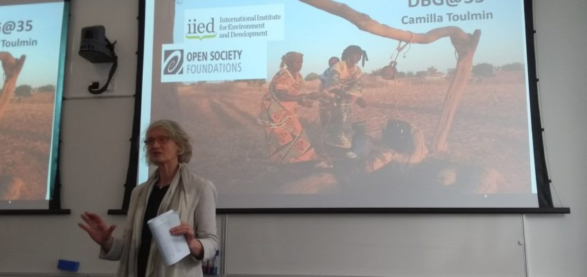 Lessons in Food Systems – Land Use Change in Mali, a talk by Camilla Toulmin