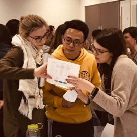 Teamwork tested in Workshop Three