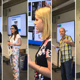 Summer school day 5 – Workplace speakers on collaboration, communication and connection