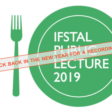 IFSTAL public lecture 2019